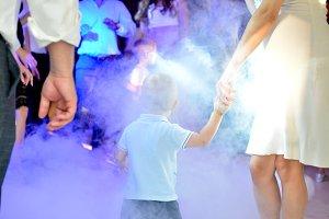Little Boy in a Smoke