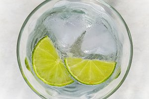 Lime soda 1
