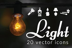 LIGHT - vector icons