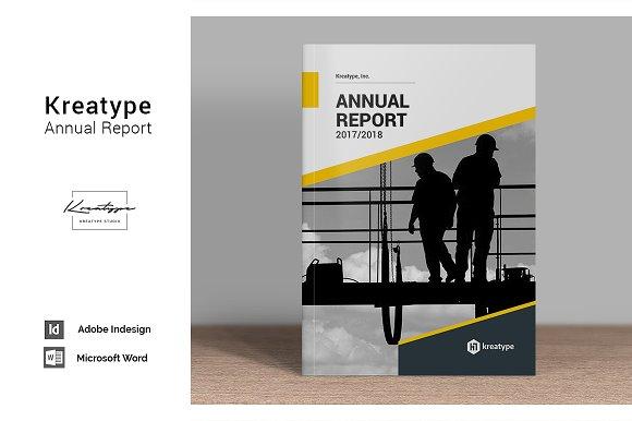 Kreatype Annual Report-Graphicriver中文最全的素材分享平台
