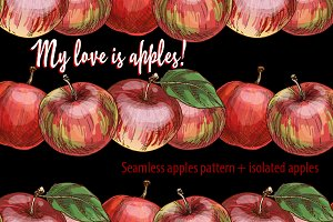 My love is apples!