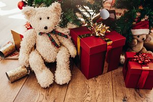 Gift boxes and soft toys