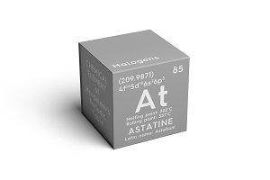 Astatine. Astatium.