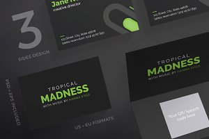 Business Cards | Tropical Madness
