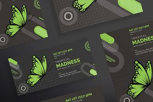 Flyers | Tropical Madness