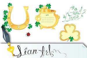 Set of Frames for St. Patrick's day