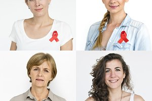 HIV ribbons