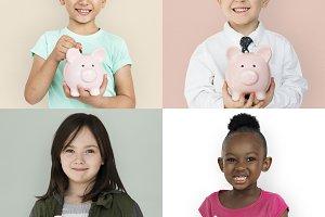 Saving piggybank
