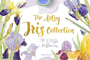TheArtsyIrisCollection-Clipart