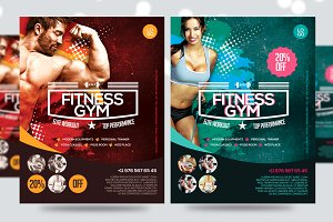 Fitness Flyer / Gym Flyer V7