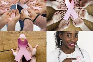 Pink Represent Ribbon