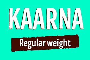 Kaarna Regular