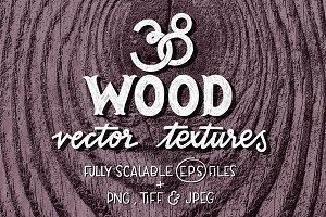 38 Wood vector textures