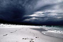 Hyams Beach Footprints