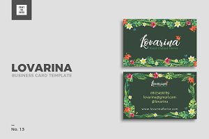 Feminine Business Card No. 13