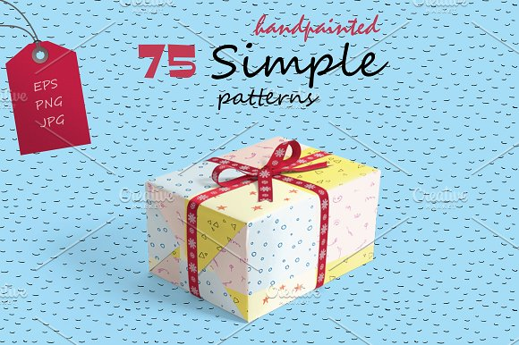75 Simple Hand-painted Patterns