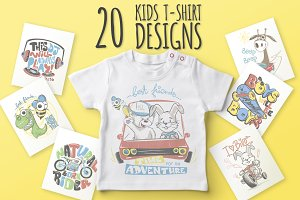 20 Kids T-Shirt Designs