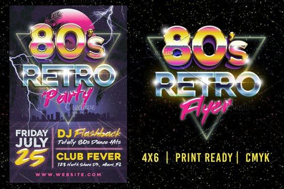 80's Retro Flyer