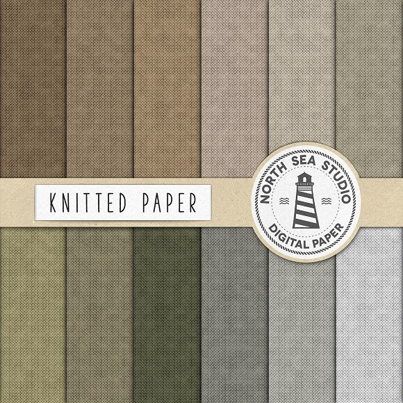 Sweater Paper In Neutral Shades - Graphics