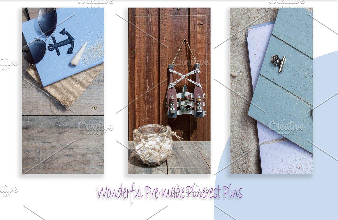 Anchors Away Pinterest Pack