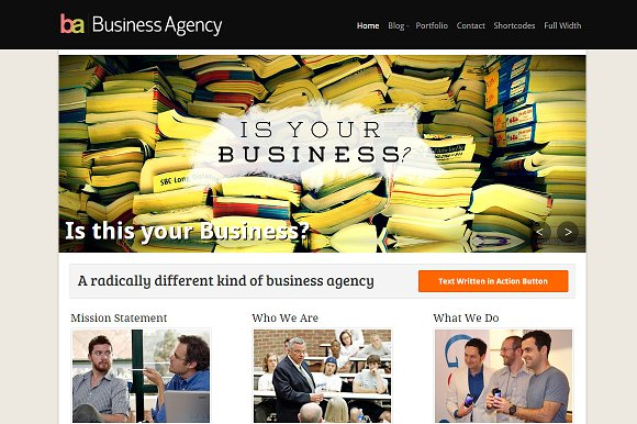 BusinessAgency Business Theme