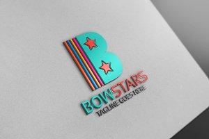Bow Star Letter Logo