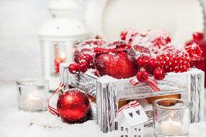 Holiday Christmas composition