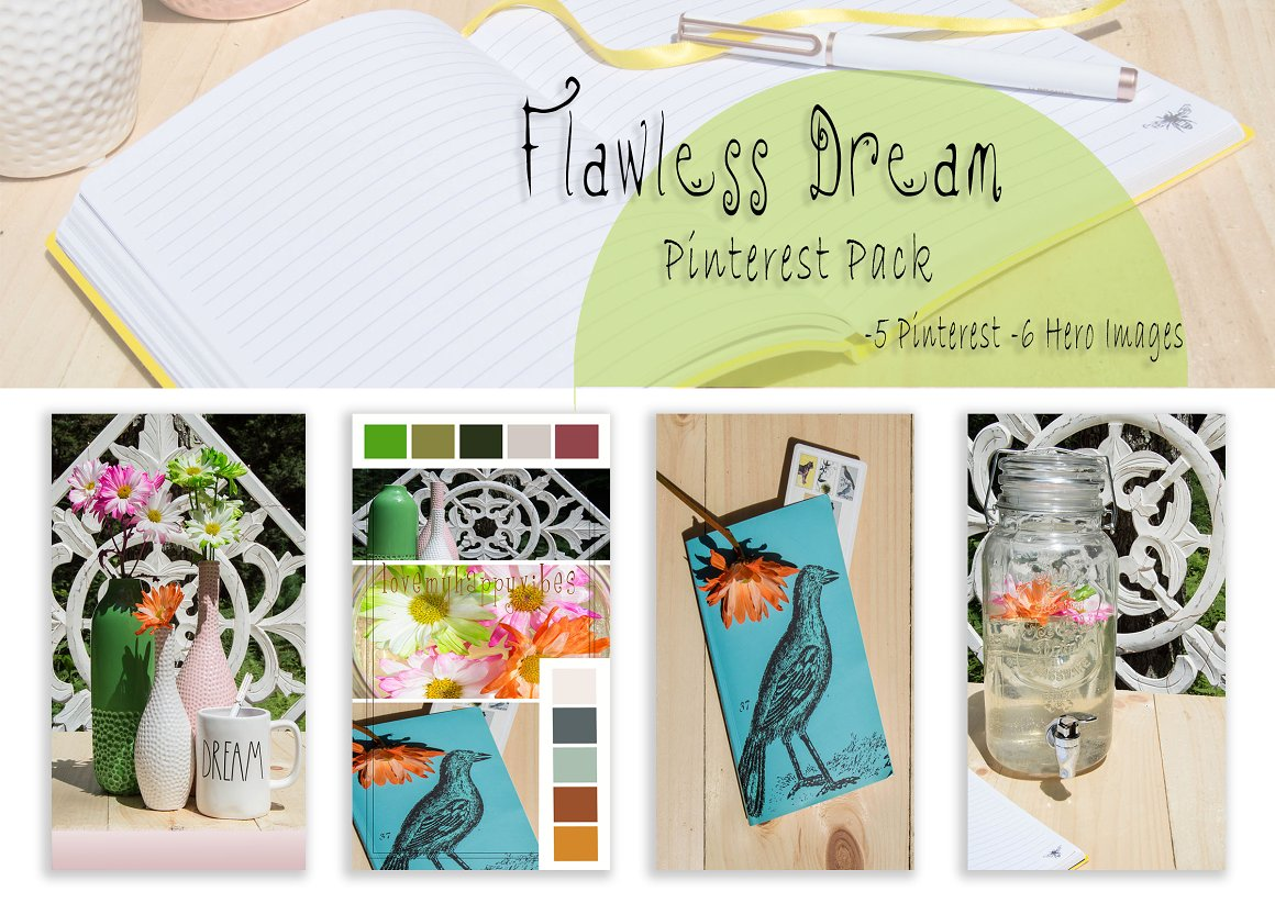 Flawless Dream Pinterest Pack