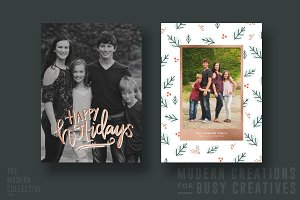Christmas Card | Gilded Holidays