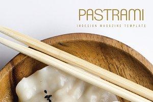 Pastrami Magazine Template