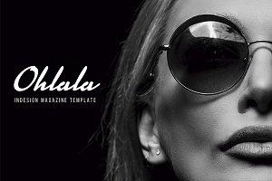 OhLaLa Magazine Template
