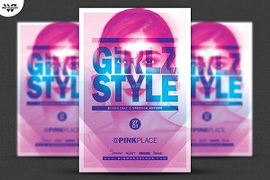 GIRLS STYLE Flyer Template