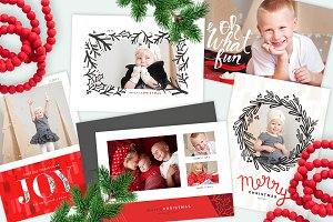 Berry Red | Christmas Card Bundle