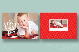 Christmas Card | Oh What Fun Banner