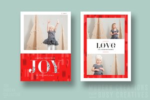 Christmas Card | Adorned Joy