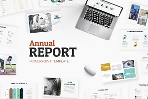 Annual Report |Powerpoint + A4 Print