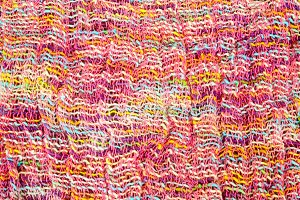 colorful wool fabric for background