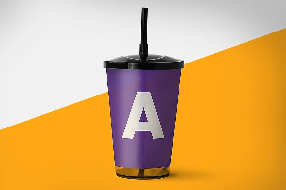 Drink Cup Mockup