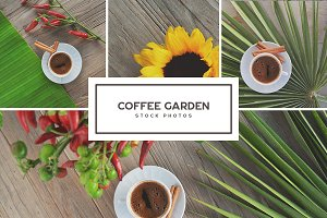 Coffee Garden • Photo Bundle