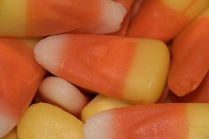 Brightly Colored Candy Corn