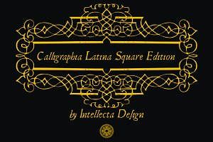 Calligraphia Latina Square Edition