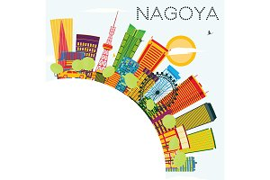 Nagoya Skyline