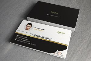 Web developer business card business card templates creative market web designer business card reheart Images