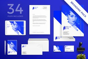 Branding Pack | Dolce Spa