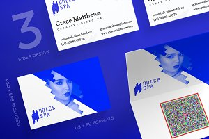 Business Cards | Dolce Spa