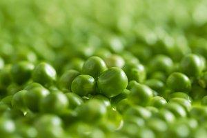 Green peas kernels
