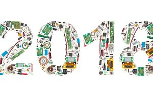2018 made of electronic components