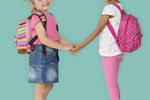 Diverse children together