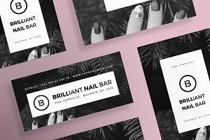 Flyers | Brilliant Nail Bar