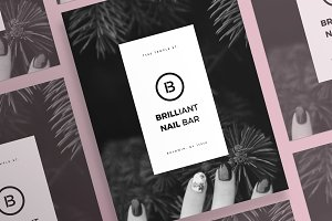 Posters | Brilliant Nail Bar
